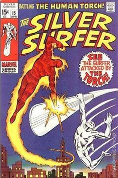 SILVER SURFER 15, SILVER AGE MARVEL COMICS                                                                                                                                                     More