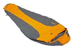 Ledge Sports FeatherLite +20 F Degree Ultra Light Design, Ultra Compact Sleeping Bag (84 X 32 X 20, Orange) - OMJ Outdoors