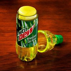 Dew chapstick. Got this for the mans for christmas stocking stuffer. It really does smell like soda!