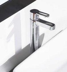 Francaise Chrome Finish Modern Bathroom Faucet