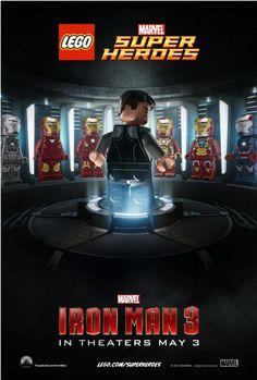 LEGO Iron Man #Marvel