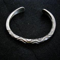 IRON BRACELET JEWELRY torc Celtic Blacksmith mens by celtsmith, $45.00