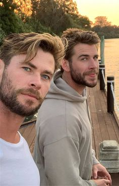 Elsa Pataky says Liam Hemsworth 'deserves better' than Miley Cyrus - actors Chris Hemsworth Thor, Chris Hemsworth Family, Liam Hemsworth And Miley, Elsa Pataky, Miley Cyrus, Beautiful Boys, Gorgeous Men, Liam Y Miley, Fitness Before After