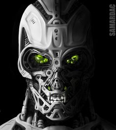 T-3000, #3D, #Character, #Paintings & #Airbrushing, #Robots