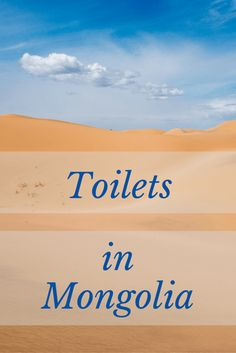 Toilets + Feminine Hygiene in Mongolia. Read all about it and ask any questions in the blog! I'll respond as quick as possible!