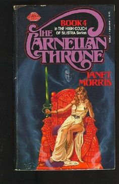The Carnelian Throne (The High Couch of the Silestra, #4) by Janet Morris, http://www.amazon.com/dp/0671559362/ref=cm_sw_r_pi_dp_j3vZpb1HWMWKK