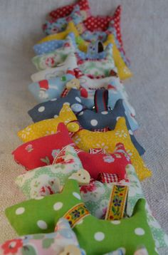 fabric scottie dog keyring, keychain, bag charm, Schlüsselanhänger Stoff Hund