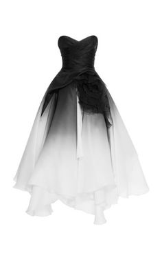 Ombre Silk Gown by Marchesa Ball Dresses, Ball Gowns, Evening Dresses, Prom Dresses, Marchesa Fashion, Marchesa Gowns, Pretty Outfits, Pretty Dresses, Beautiful Outfits