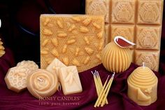 Important Information about Honey Candles® Beeswax Blocks