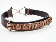 Copper man jewelry Man bracelet Wire weaving black silicone #men'sjewelry #wirejewelry