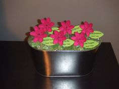 So cute for place card holders