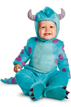 Monster's University Sulley Classic Infant Costume #Halloween #costumes #disney