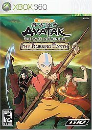 Avatar: The Last Airbender - The Burning Earth (Xbox 360, 2007) Game Only - Add to your collection!! FREE SHIPPING! BlingBlinky.com