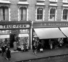 True -Form shoe shop, I worked in the Fulham branch in London as a Saturday girl and during the holidays.