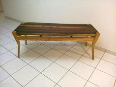 floating live edge table top | Natural Edge Smoked Larch Floating Top Coffee Table