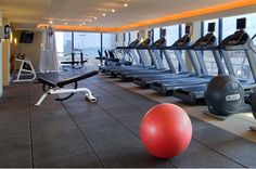 Enjoy views of Miami's skyline and waters while you work out in our fitness center.