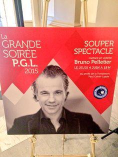 Bruno Pelletier, soirée PGL Gare Windsor 4 Juin 2015