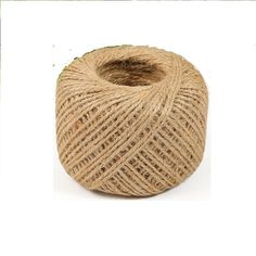 560' feet Natural 2Ply Twisted Jute Twine String Rope Bird Parrot Toy Craft Part #Unbranded