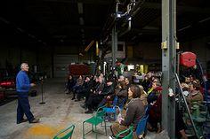 InspiratiePodium Arnhem #13, Inspiratiehuis Arnhem, Locatie; De Smidse, Film- en fotostudio Alain.nl