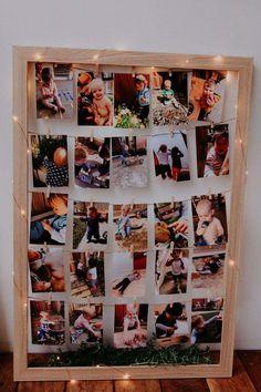 Baby Birthday Themes, Birthday Charts, 13th Birthday Parties, Birthday Board, 1st Birthday Girls, Happy Birthday Me, Birthday Party Decorations, Birthday Ideas, Birthday Picture Displays