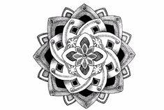 Mandala Temporary Tattoo Xena – MyBodiArt