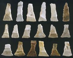 18 transverse arrowheads from northern Europe.