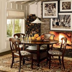 14 Best Animal Print Dining Chairs Images On Pinterest Dining Room