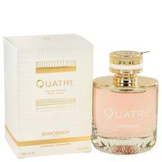 Quatre Perfume by Boucheron Women Fragrance Eau De Parfum Spray oz EDP New Fragrances, Fragrance Parfum, Parfum Spray, Body Spray, Smell Good, Perfume Bottles, Grapefruit, Short Hairstyles, Crystals