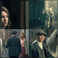 Tommy and Grace S1 Peaky Blinders 💙