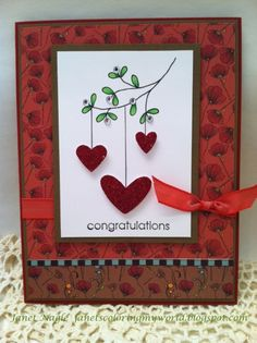 Engagement Card by bizzy32765 - Cards and Paper Crafts at Splitcoaststampers