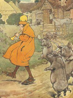1910s Frank Adams illustration.