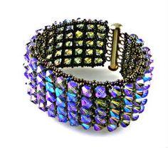 Swarovski crystals cuff