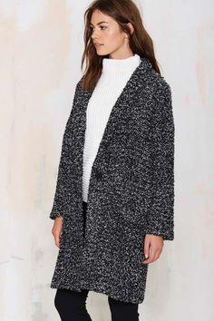 BB Dakota Donovan Bouclé Coat - Coats