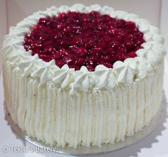 Rasberry cream cake