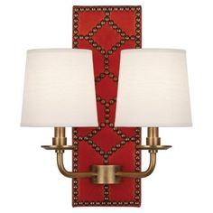 Williamsburgh Lightfoot Wall Sconce | Red
