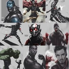 """More marvel art from @wee_arts ! #avengers #ageofultron #aou #dc #arrow #flash #gotham #gotg #got #twd #thor #dawnofjustice #captainamerica #hungergames…"""