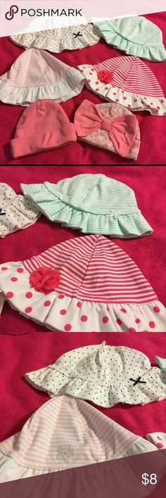 NWOT Baby Hats 0-6 months These are brand new and never used. Accessories Hats