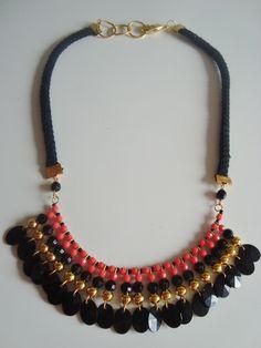 Collar Gitana 02Nco, $55 en http://ofeliafeliz.com.ar
