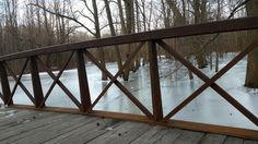 Bridge over ice