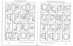 making illuminated manuscripts from MrShine  initial_capitals-letter_patterns.jpg