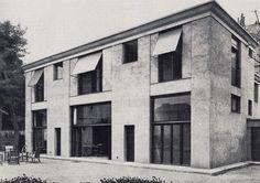 Auguste Perret,  Maison Cassandre, Versailles, 1924