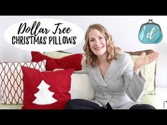 DIY No Sew Pillows |DIY Monogram Pillows|DIY Christmas Pillows|Freezer Paper Stencil - YouTube
