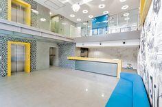 Office building - Bucharest by Point Zero & photo by Marius Grigore Interior Architecture, Interior Design, Bucharest, Mario, Interiors, Building, Inspiration, Ideas, Architecture Interior Design