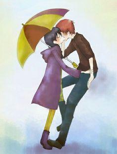 Karma x Okuda Krama Quotes, Okuda, Best Teacher Ever, Assasination Classroom, Kawaii Stuff, Cute Anime Couples, Anime Ships, You're Awesome, Me Me Me Anime