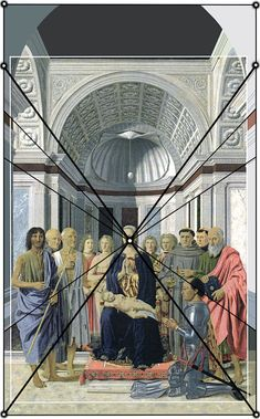 Pietro di Benedetto dei Franceschi detto Piero della Francesca, 1471-1472/1482, 15th Century, oil and tempera on board, 250,9 x 172,5 cm.  ….. Piero della Francesca, The Brera Madonna - the Pala di Brera - the Montefeltro Altarpiece - Brera Altarpiece, Pinacoteca di Brera, Milan. Brera National Gallery. Giorgioppi 2008.