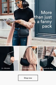 "fd48360804cb The convertible belt bag (aka ""fanny pack"") that goes with any outfit"