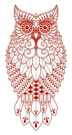 yes! owl - Click image to find more Art Pinterest pins