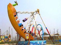 pirate ship fairground ride