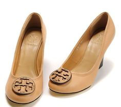 Tory Burch wedge. I need to add these to my collection. :)