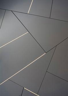 LED strip for modern interior lighting, nice and practical Floor Design, Ceiling Design, Wall Design, Floor Patterns, Wall Patterns, Plafond Design, Wall Cladding, Interior Walls, Modern Interior